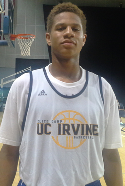 Kameron Edwards of No. 26 Etiwanda (Calif.) had a standout summer and the Pepperdine commit is looking to translate it to his senior high school season. Photo: Ronnie Flores