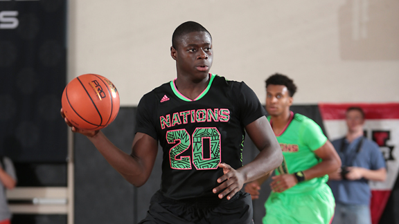 Rawle Alkins hopes to lead FAB 50 No. 33 Christ the King (Middle Village, N.Y.) to the New York Federation Class AA title this weekend at SEFCU Arena. Photo: Kelly Kline/adidas)