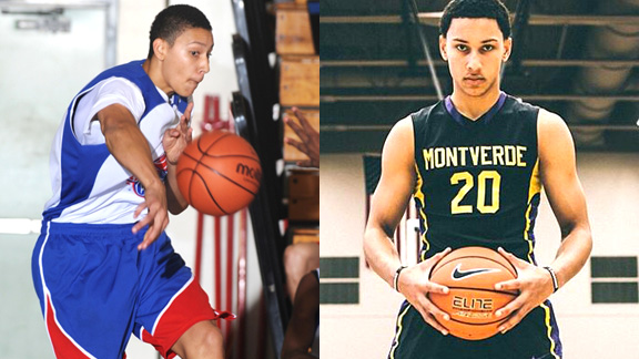 Australian Ben Simmons first made his mark on American basketball at the 2012 Pangos All-American Camp and three years later is the first consensus National Player of the Year since LeBron James.
